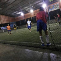 Photo taken at Hanggar Futsal by Frieza M. on 4/8/2014