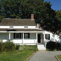 Photo taken at Edgar Allan Poe Cottage by Maya S. on 10/13/2012