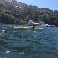 Photo taken at Sydney Kayak by Haley L. on 9/28/2014