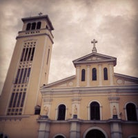 Photo taken at Minor Basilica of Our Lady of the Most Holy Rosary of Manaoag by Tracy D. on 5/18/2013