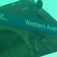 Photo taken at Metra - Western Avenue by a k on 7/1/2013