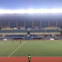 Photo taken at Stadium Hoki Nasional by Amirah A. on 6/2/2016
