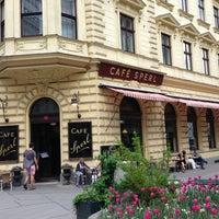 Photo taken at Café Sperl by Martin O. on 5/1/2013