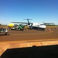 Photo taken at Aeroporto de Dourados (DOU) by Ítalo O. on 5/8/2013