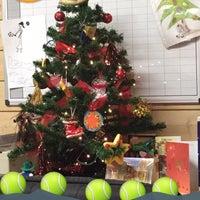 Photo taken at Filothei Tennis Club by Hrww C. on 12/2/2015