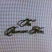 Photo taken at The Paramount Hotel Seattle by Tre' E. on 11/1/2012