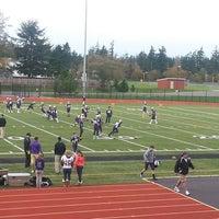 Photo taken at Wildcat Memorial Stadium by Tre' E. on 11/9/2013