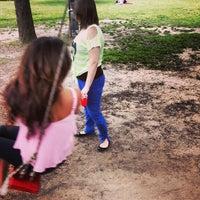 Photo taken at Menil Park by Danny D. on 4/21/2013
