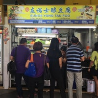 Photo taken at Eunos Crescent Market & Food Centre by Wolfram H. on 7/18/2016