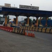 Photo taken at Gerbang Tol Bekasi Timur by mulyadi a. on 6/19/2016