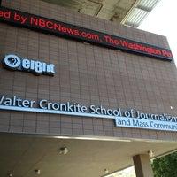 Photo taken at Walter Cronkite School of Journalism & Mass Communication by Steven S. on 9/29/2012