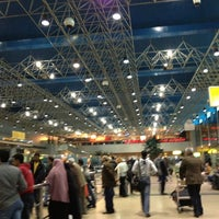 Photo taken at Cairo International Airport (CAI) by Christabelle A. on 2/27/2013