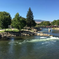 Photo taken at Truckee River by Daniel I. on 9/10/2016
