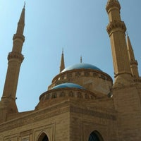 Photo taken at Mohammed Al-Amin Mosque by Aistė L. on 5/10/2016