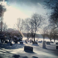 Photo taken at Lakewood Cemetery by Bret R. on 2/23/2013
