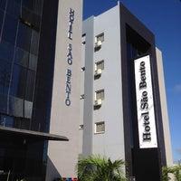 Photo taken at Hotel São Bento by Wellington Sousa #. on 5/25/2014
