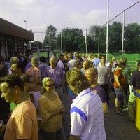 Photo taken at Rijnmond Hoogvliet Sport by Peter G. on 7/6/2013