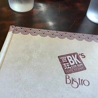 Photo taken at BK's Bistro by Noel G M. on 7/26/2015