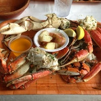 Photo taken at Rustic Inn Seafood Crabhouse by Russell S. on 7/26/2013