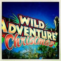 Photo taken at Wild Adventures Theme Park by hArri on 11/23/2012