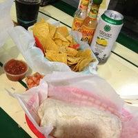 Photo taken at Tito's Burritos by danielle m. on 3/12/2013