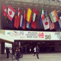Photo taken at Bologna Children's Book Fair by Giorgio B. on 3/26/2013