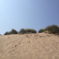 Photo taken at Camber Sands Beach by Linda on 7/7/2013