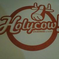 Photo taken at Holycow! Steakhouse by Diah Pipit L. on 3/6/2013