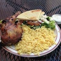 Photo taken at Nikos Steak Burgers & Greek Food by John H. on 5/2/2013