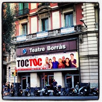 Photo taken at Teatre Borràs by Alberto S. on 7/3/2013