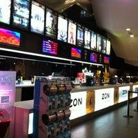 Photo taken at Cinemas NOS Braga Parque by Victor L. on 11/20/2012