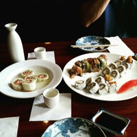 Photo taken at Ocean Blue Sushi by Tiffany A. on 6/12/2015