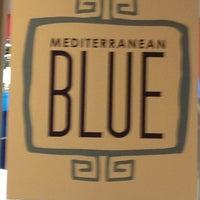 Photo taken at Mediterranean Blue by Kathy C. on 6/26/2013