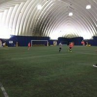 Photo taken at Sports Dome by JP Y. on 1/17/2015