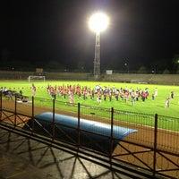 Photo taken at Stadion Mulawarman by Agung P. on 8/5/2013
