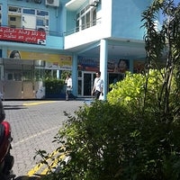 Photo taken at Hulhumalé Ferry Terminal (Malé) by Nasheed A. on 8/14/2013