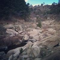 Photo taken at Castlewood Canyon State Park by Oksana S. on 4/8/2013