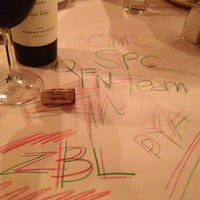 Photo taken at Romano's Macaroni Grill by Debby P. on 10/18/2012