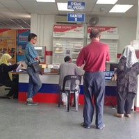 Photo taken at Pejabat Pos Besar Seremban by Ayum L. on 7/16/2013