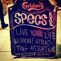 Photo taken at Specs' Twelve Adler Museum Cafe by Omarrr R. on 4/20/2012