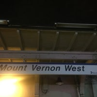 Photo taken at Metro North - Mt Vernon West Train Station by Jason A. on 10/29/2016