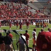 Photo taken at Arizona Stadium by Cristina S. on 10/27/2012