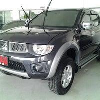 Photo taken at Mitsubishi Motors | Kanchana Equipment by Thiti S. on 10/21/2012