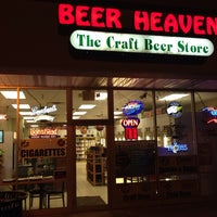 Photo taken at Beer Heaven by Chris P. on 4/12/2014