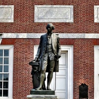 Photo taken at Independence Hall by Tim S. on 7/27/2013
