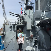 Photo taken at USS Cassin Young by Leigh B. on 5/21/2016