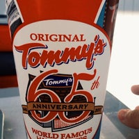 Photo taken at Original Tommy's Hamburgers by Brian M. on 8/14/2013