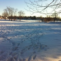 Photo taken at Stricker's Pond Park by Janet S. on 1/1/2013