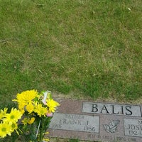 Photo taken at All Saints Cemetery by Fran C. on 6/15/2016