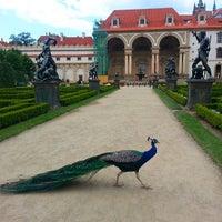 Photo taken at Wallenstein Garden by Assel U. on 7/12/2013